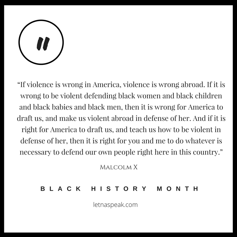 QUOTE OF THE DAY: BLACK HISTORYMONTH